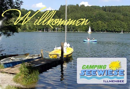 Camping Seewiese Illmensee in Baden-Württemberg